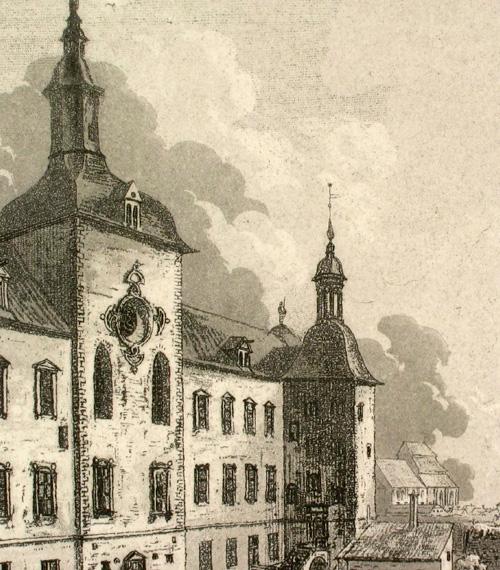 Grafiska Sällskapet - Detalj från en äldre akvatintetsning