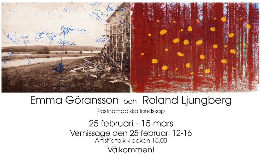Emma Göransson och Roland Ljungberg
