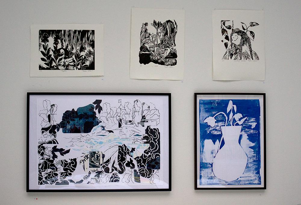 Utställning: Grafikskolans slututställning  4 maj - 22 maj 2019