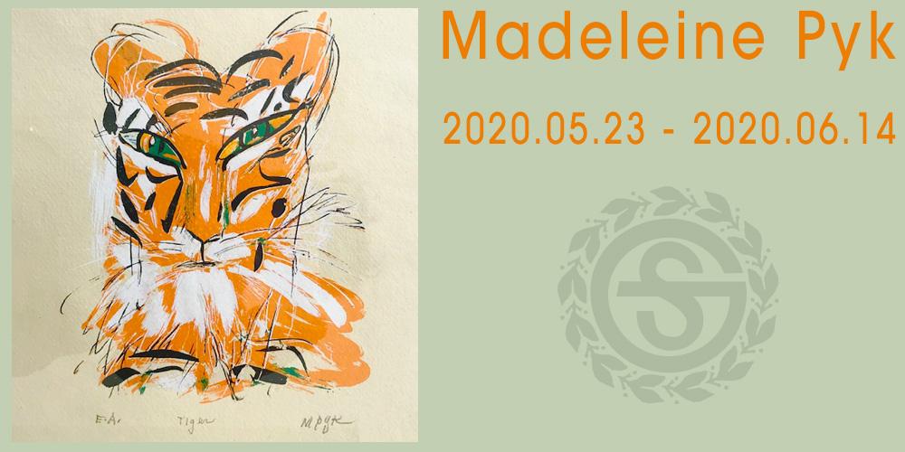 Utställning: Madeleine Pyk 23/5 - 14/6 2020