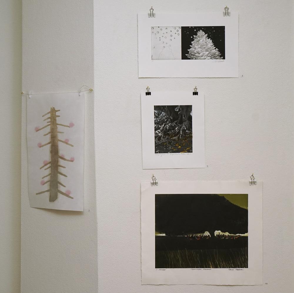 Mitt senaste blad - en samlingsutställning
