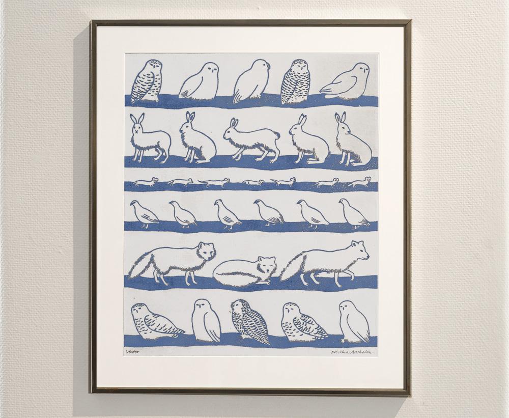 utställning med Kristina Anshelm