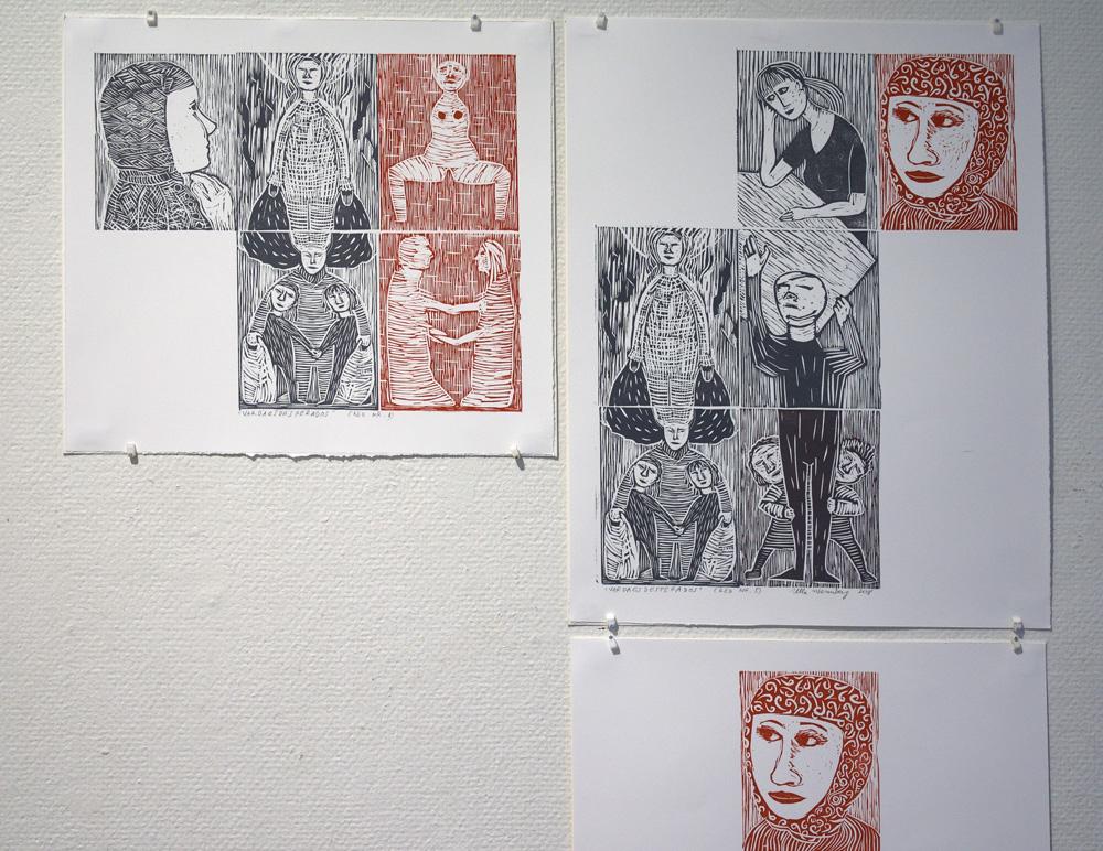 Utställning - Helena Mellin & Ulla Wennberg