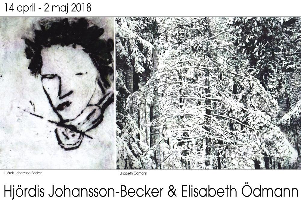 Utställning - Hjördis Johansson-Becker & Elisabeth Ödmann