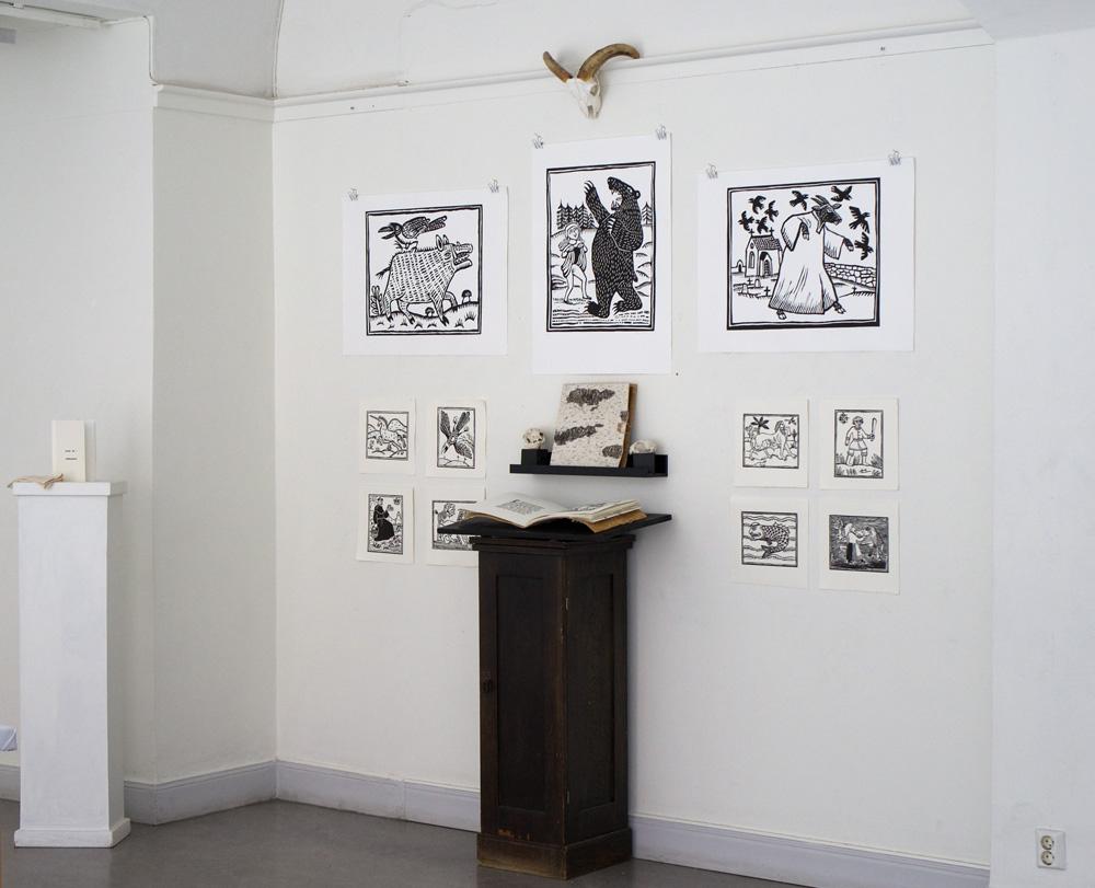 Utställning - Grafikskolans slututställning