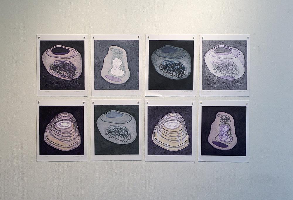 utställning: Elenore Holm & Gunilla Poignant 16 mars - 3 april 2019