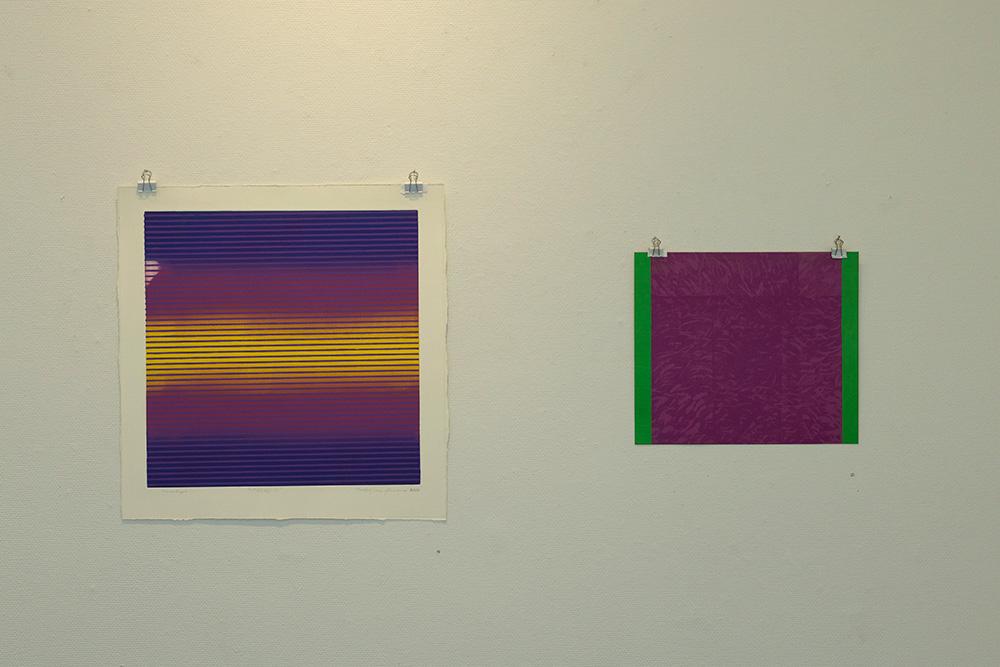 Utställning: Peder Josefsson: Färg - Linje - Yta