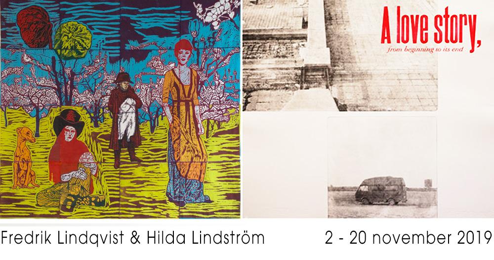 Utställning: Fredrik Lindqvist & Hilda Lindström