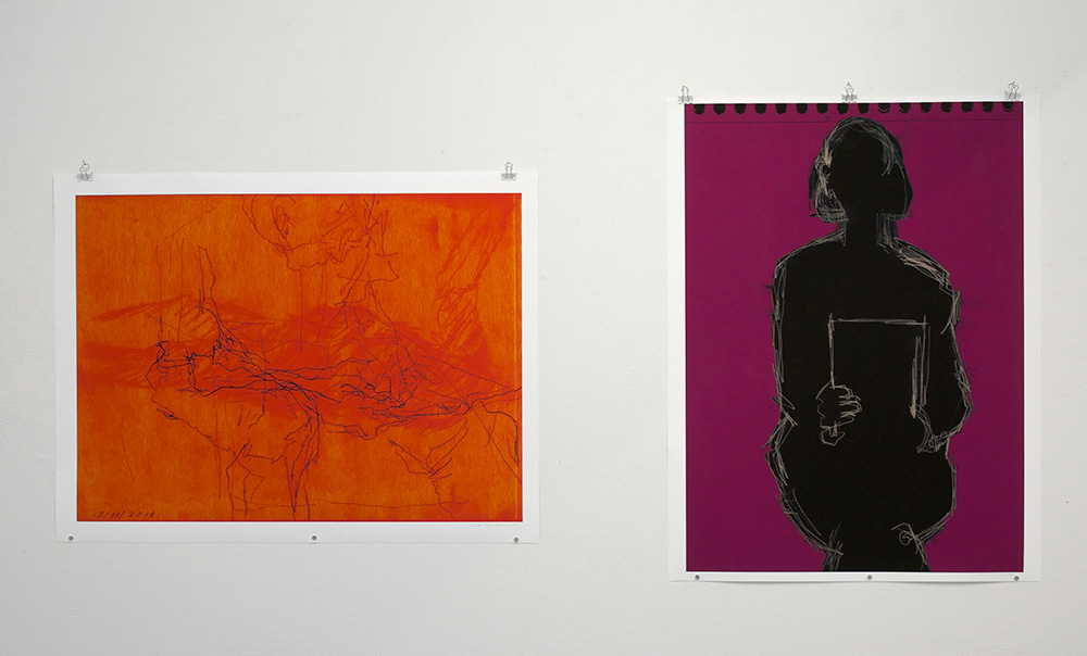 Utställning: Åse Marstrander & Ewa Berg 2020.03.14 - 2020.04.01