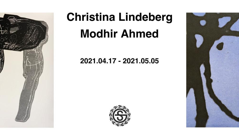 Utställning: Christina Lindeberg & Modhir Ahmed 17/4 - 5/5 2021