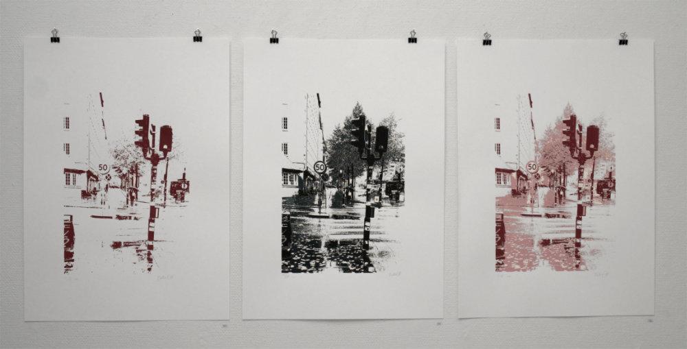 Utställning: Grafikskolans elevutställning Avtryck 8/5 - 26/5 2021